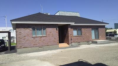 平屋の住宅です